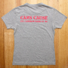 Grey Cam's Cause t-shirt - back print