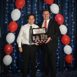 Joshua Oliver, winner U17 Corporal Cameron Baird VCMG Award for Courage & Leadership