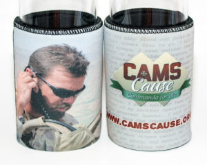 Cam's Cause stubby holder - 2015 design