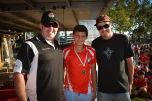 Jacob Mirosh, U13 CPL Cameron Baird VC MG Grand Final Medalist