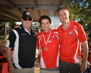 Riley Weller, U17 CPL Cameron Baird VC MG Grand Final Medalist