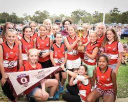 AFLQ Redland Sharks U13 Girls Premiers