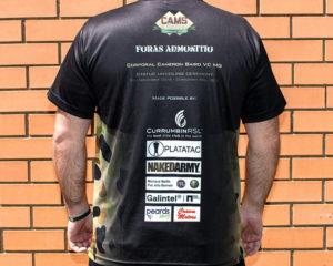 Cam's Cause commemorative t-shirt