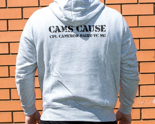 Cam's Cause hoodie