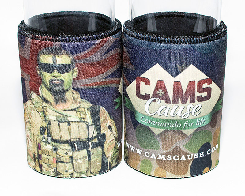 Cam's Cause stubby holder - 2014 design