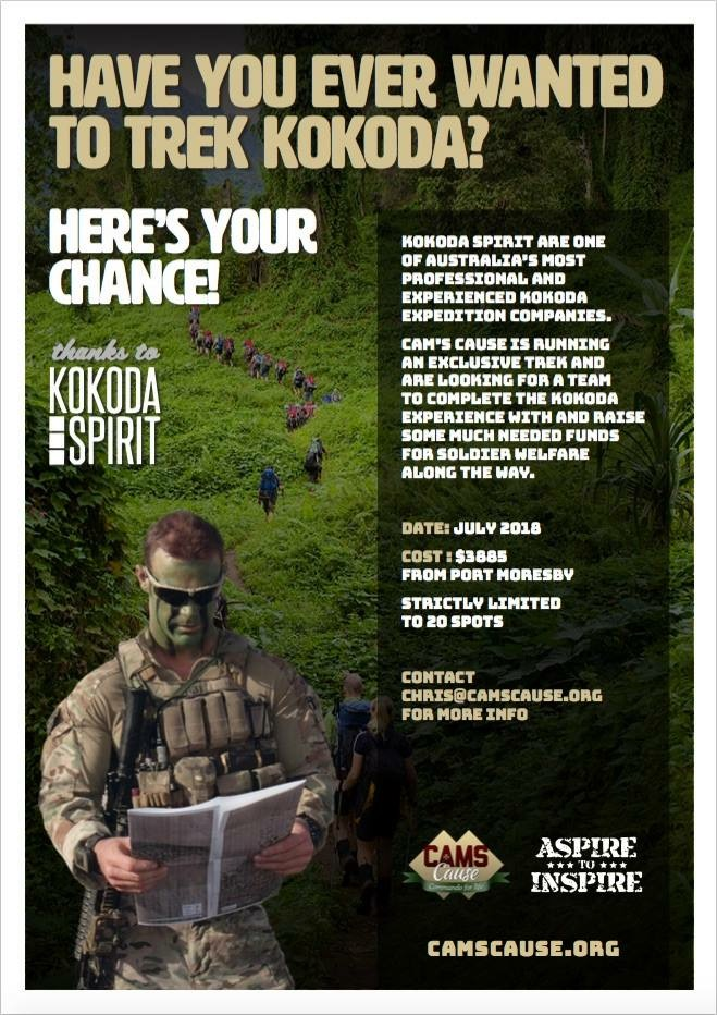 Have you ever wanted to trek Kokoda?