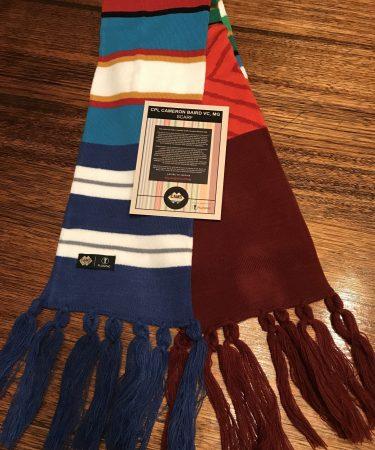 Cam's Cause scarf