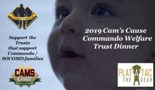 2019 Cam's Cause Commando Welfare Trust Dinner