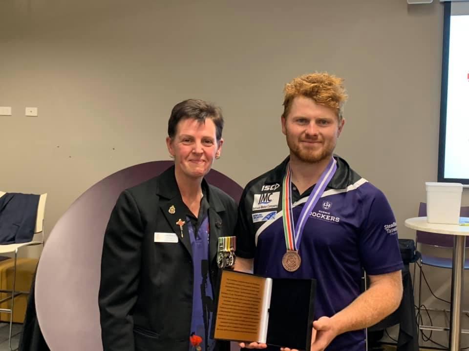 Annual Cpl Cameron Baird VC MG AFL Game – Burnie Tasmania