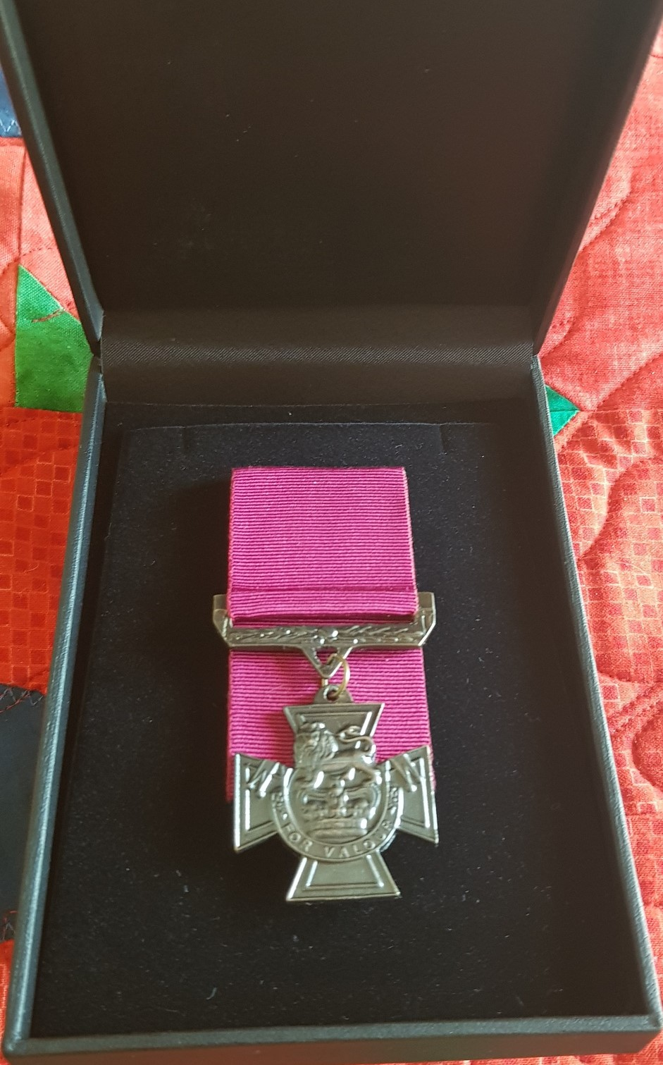 Cam's Cause Victoria Cross Replica Made From Battlefield Lead